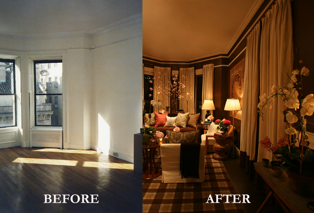 Rod Winterrowd | Before and After | Fifth Avenue Apartment, NY | Living Room