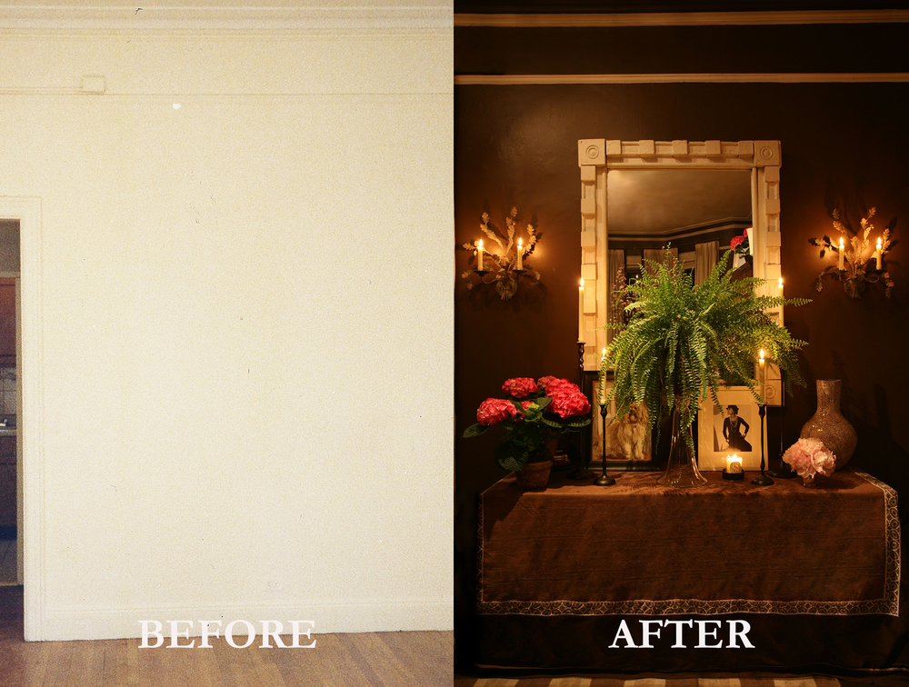 Rod Winterrowd | Before and After | Fifth Avenue Apartment, NY | Console & Mirror