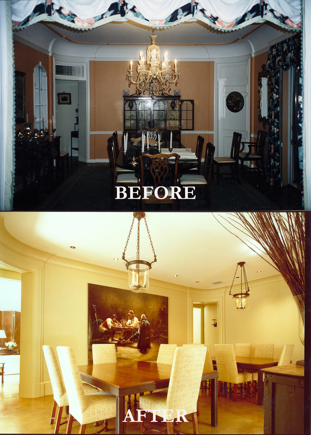 Rod Winterrowd | Before and After | Palm Beach, FL | Dining Room