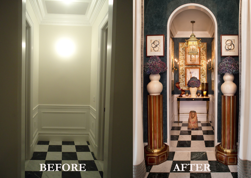 Rod Winterrowd | Before and After | Kips Bay Show House, NYC