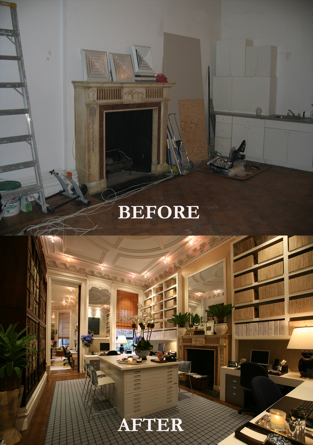 Rod Winterrowd | Before and After | Office, Upper East Side, NYC