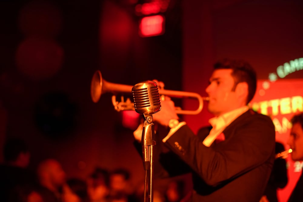 Chris Norton performs at Campari Calendar 2016 Launch, The Standard Highline New York