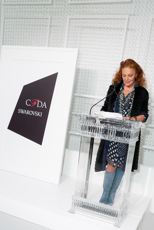 Diane Von Furstenberg - CFDA X SWAROVSKI 2016 Nominee Cocktail