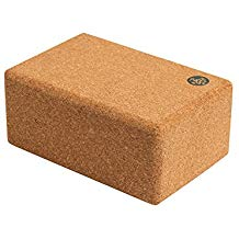 Durable, heavy, non-slip cork yoga blocks.