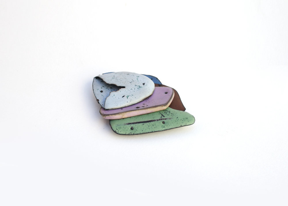 Colorscape Brooch 5