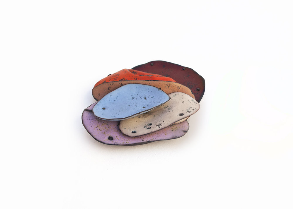 Colorscape Brooch 6