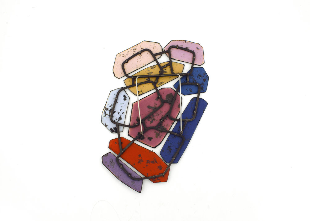 Colorscape Brooch 11