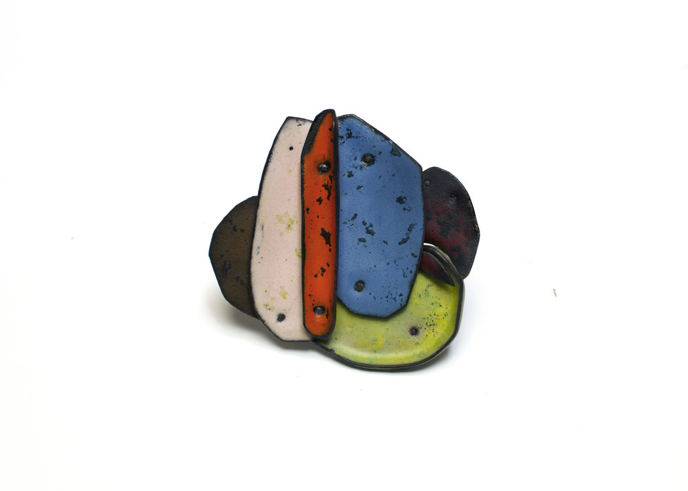 Colorscape Brooch 8
