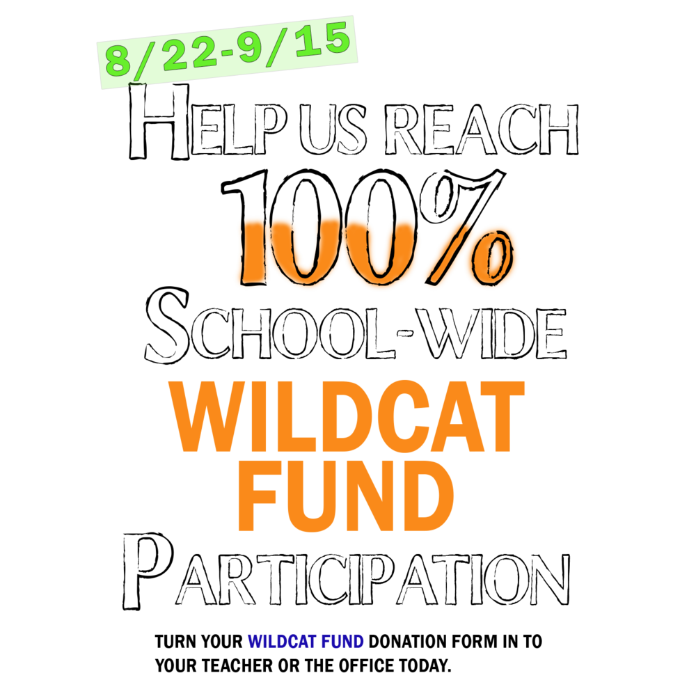 - At Westlake Hills Elementary, Everyone's a Wildcat!  Donations raised through Wildcat Fund are invested into programs and resources that directly benefit Westlake Hills students.  The preferred methods of payment are cash, check, or Venmo. Donation forms are available via the button below or in the office. To pay by Venmo or credit card, please use the buttons below.  Thanks for your support!PRINT A CHECK DONATION FORM HERE