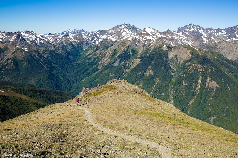 Heather Basin viewed from Buckhorn Mountain Ridge