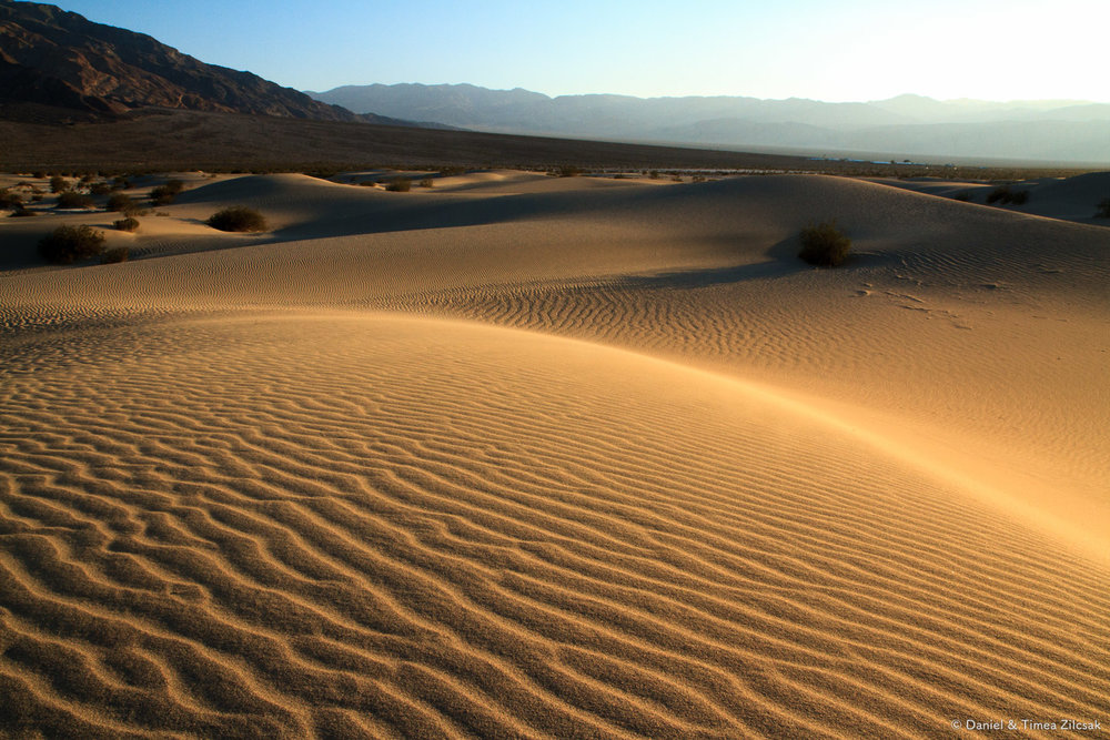 Mesquite Sand Dunes, Death Valley National Park Top 10 Must See
