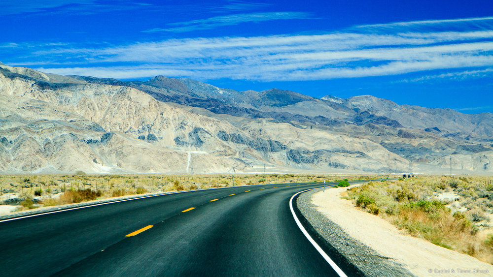 Driving to Death Valley National Park Top 10 Must See