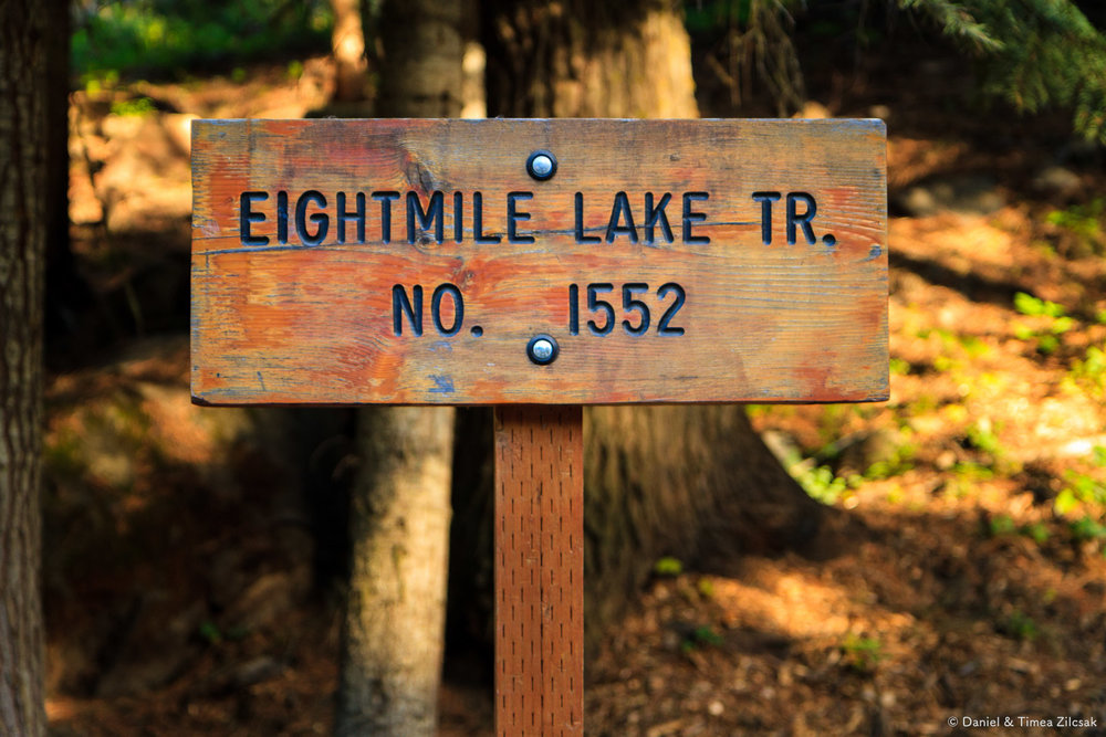 Enchantments' Eightmile Lake trail head