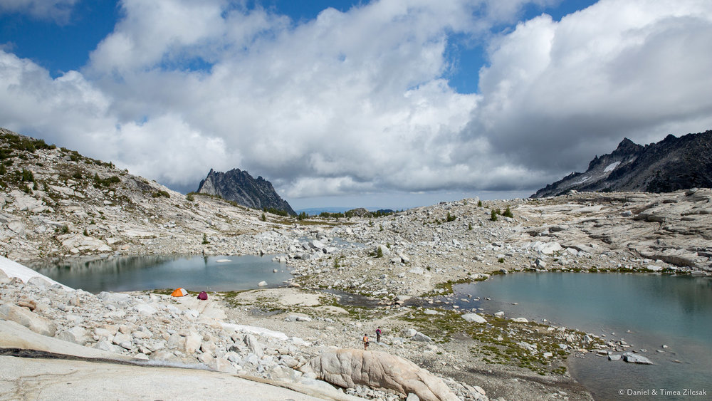 Backpacking the upper core Enchantments,  Prusik Peak and Mount Temple in the distance- 9Z4A2827 © Zilcsak.jpg