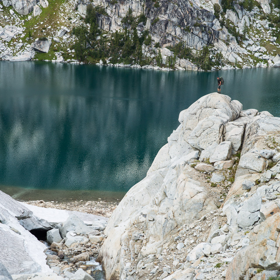 Inspiration Lake, Upper Core Enchantments Zone