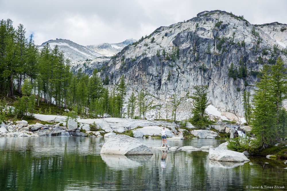 A small tarn downstream from Perfection Lake, backpacking The Enchantments- 9Z4A3063 © Zilcsak.jpg