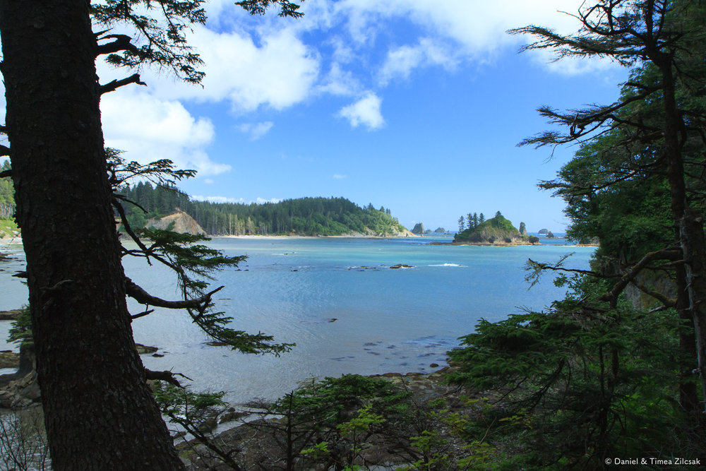 Making our way around Taylor Point - Backpacking the South Coast Wilderness Trail, Olympic National Park