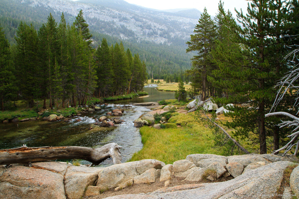 Lyell Fork of the Tuolumne River - Backpacking Yosemite