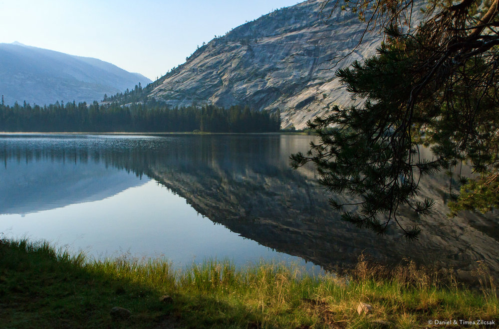 Merced Lake after sunrise, Yosemite National Park
