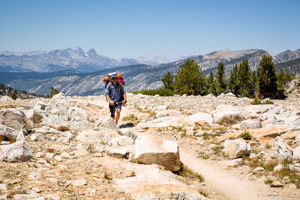 John Muir Trail Guide Book and Maps