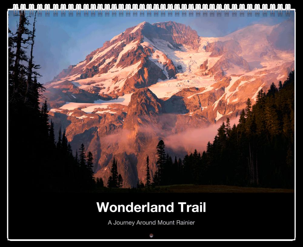 Wonderland Trail Mount Rainier National Park Calendar.png