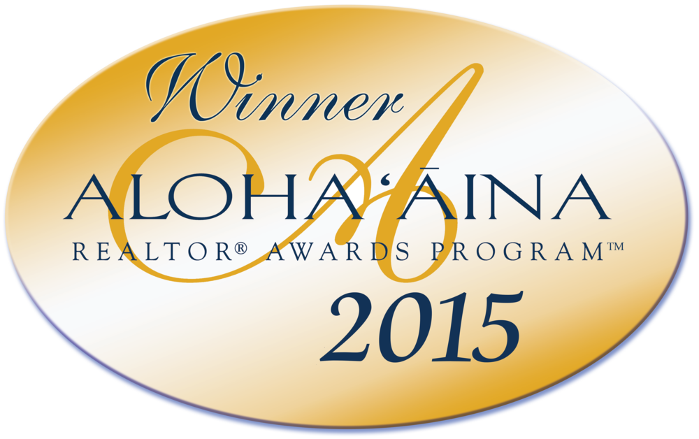 "YVONNE AHEARN: WINNER of 2015 AlOHA AINA ""PEOPLE's CHOICE"" AWARD FOR OAHU"