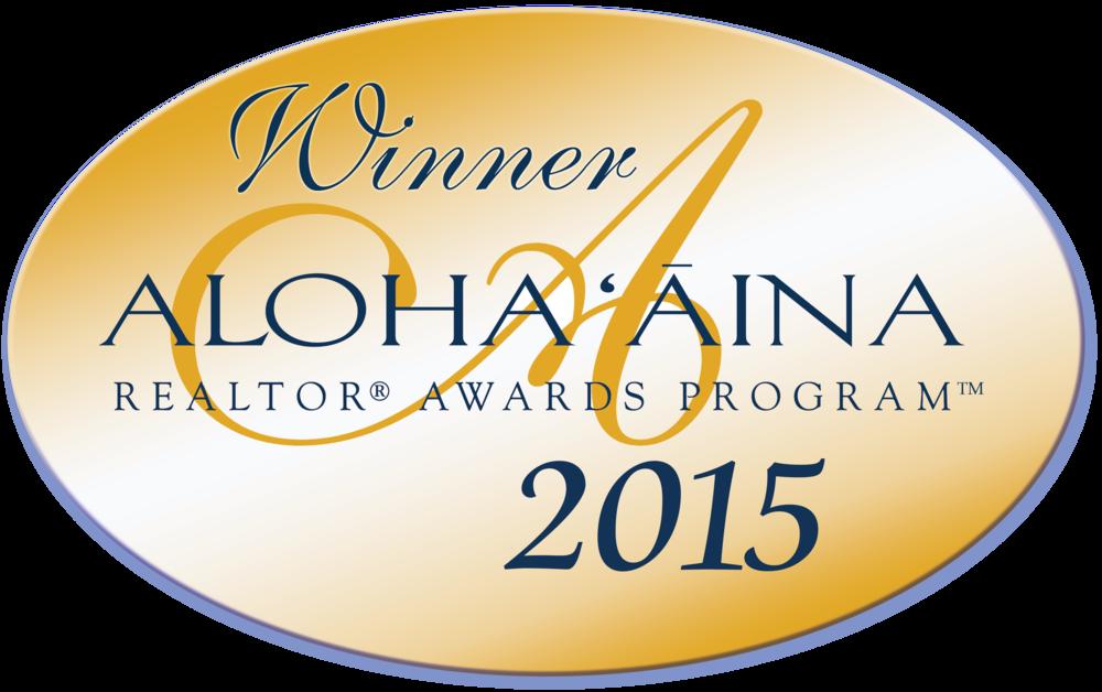 """YVONNE AHEARN: WINNER of 2015 AlOHA AINA """"PEOPLE's CHOICE"""" AWARD FOR OAHU"""