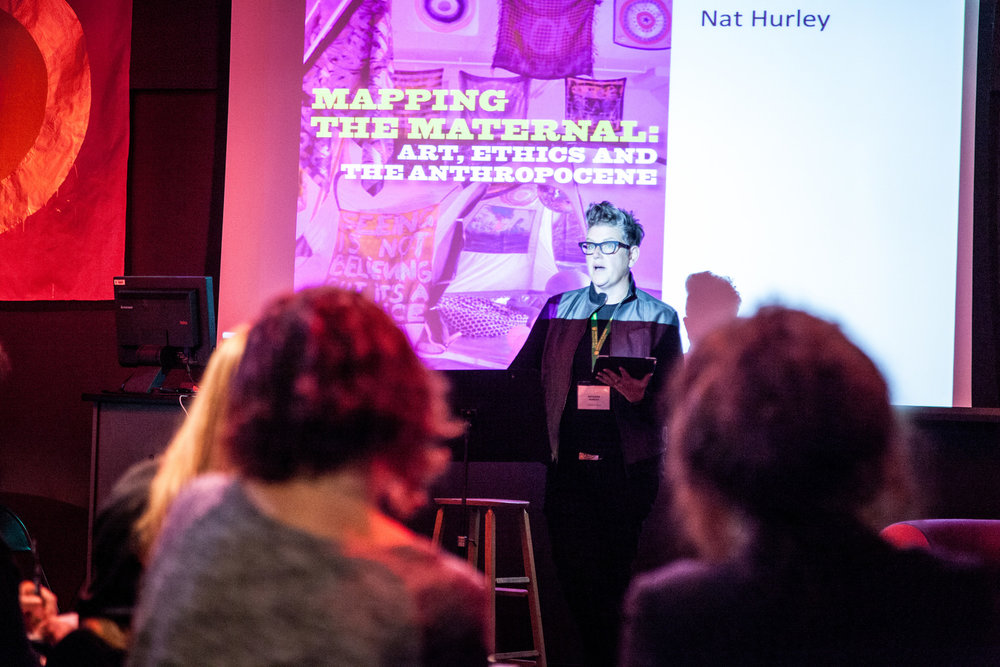 "Nat Hurley ""Is it possible to imagine maternity without motherhood?"""
