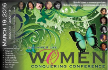 Women's Conquering Conference Speaker