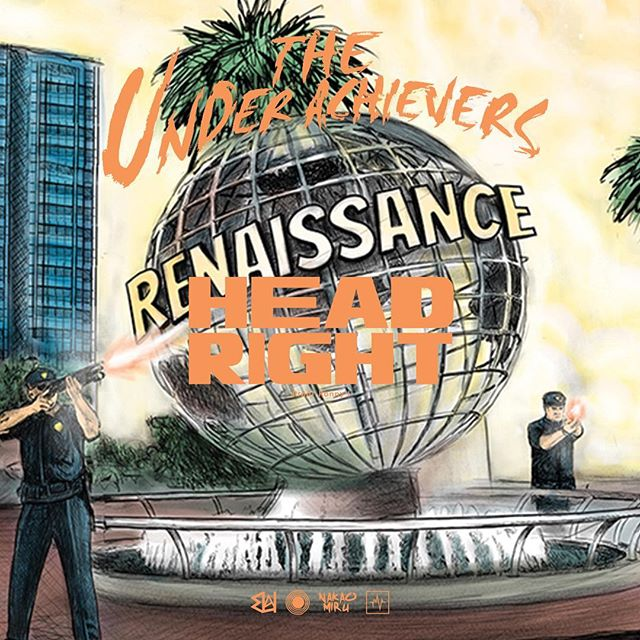 NEW MUSIC - THE UNDERACHIEVERS - HEAD RIGHT - PROD. BY @ronnyjlistenup LINK IN BIO! LEAVE A COMMENT
