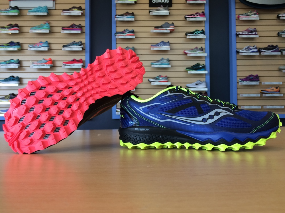 With the addition of Saucony's new EVERUN material, the Peregrine is better than ever.