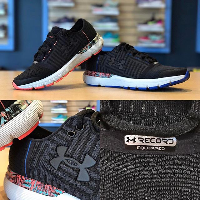 @underarmour trainers are now at Future Track! We've got 3 sweet new models, including the Record Equipped SpeedForm Gemini 3 pictured here!  #futuretrack #underarmour #speedformgemini #recordequipped #mapmyrun #runningshoes