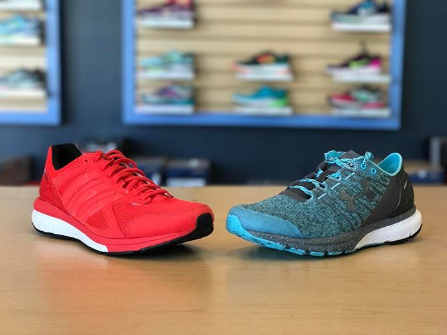 Need a last minute gift for your runner valentine? Well... Tempos are red, Charged Bandits are blue, Here's a big hint: Runners love shoes.
