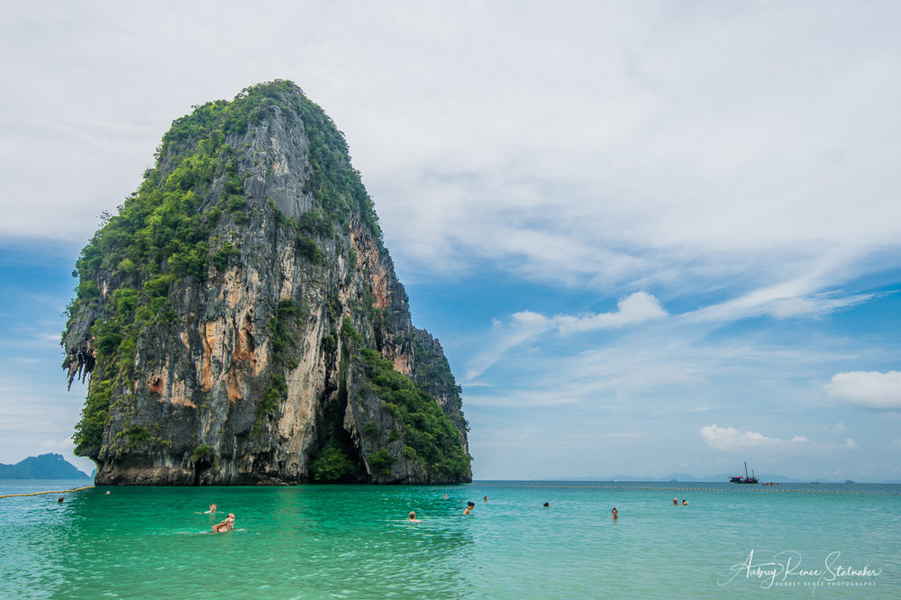 Karst Rock Formation in the Phi Phi Islands, Thailand