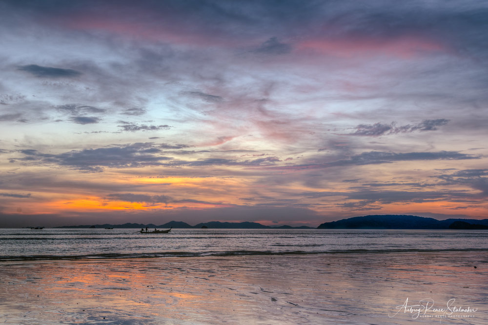 Sunset at Krabi, Thailand