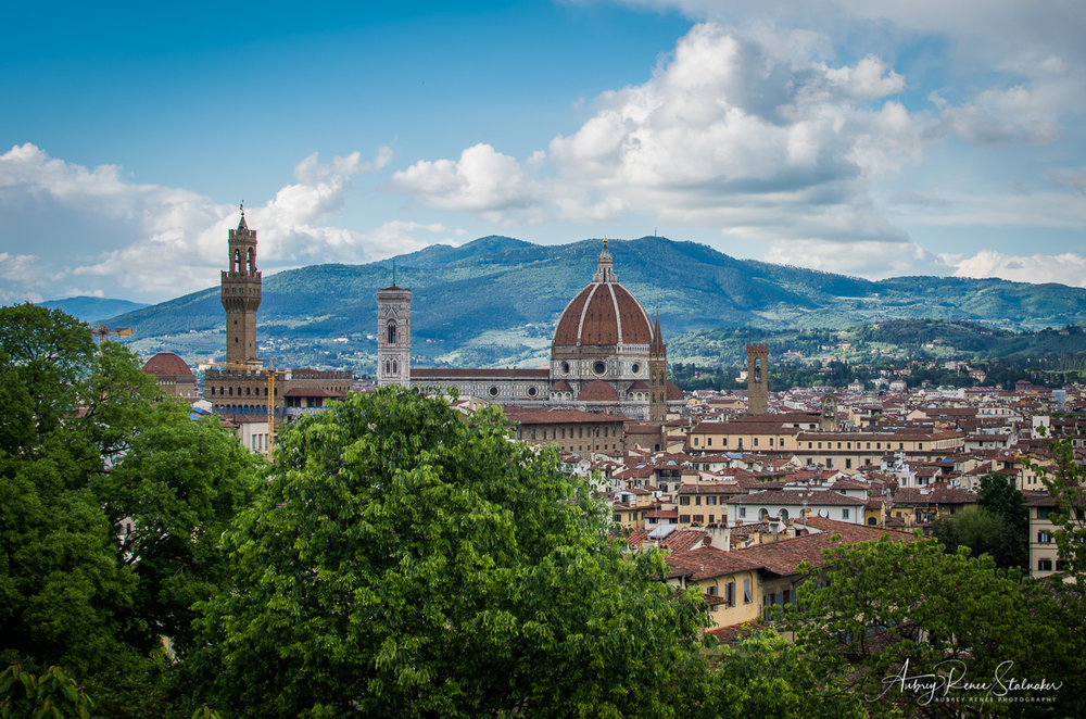 View of the Duomo in Florence, Italy