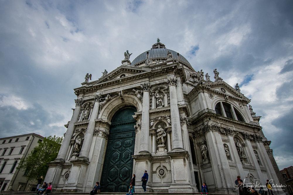 The Santa Maria della Salute in Venice, Italy