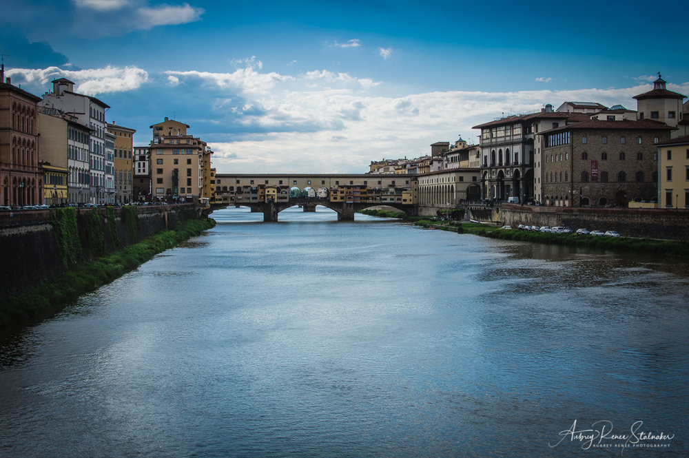 The Ponte Vecchio in Florence, Italy