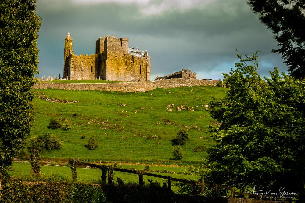 The Rock of Cashel in Ireland