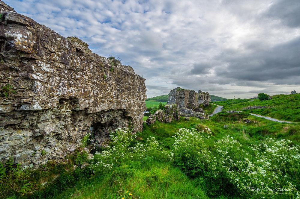 The Rock of Dunamase in Ireland