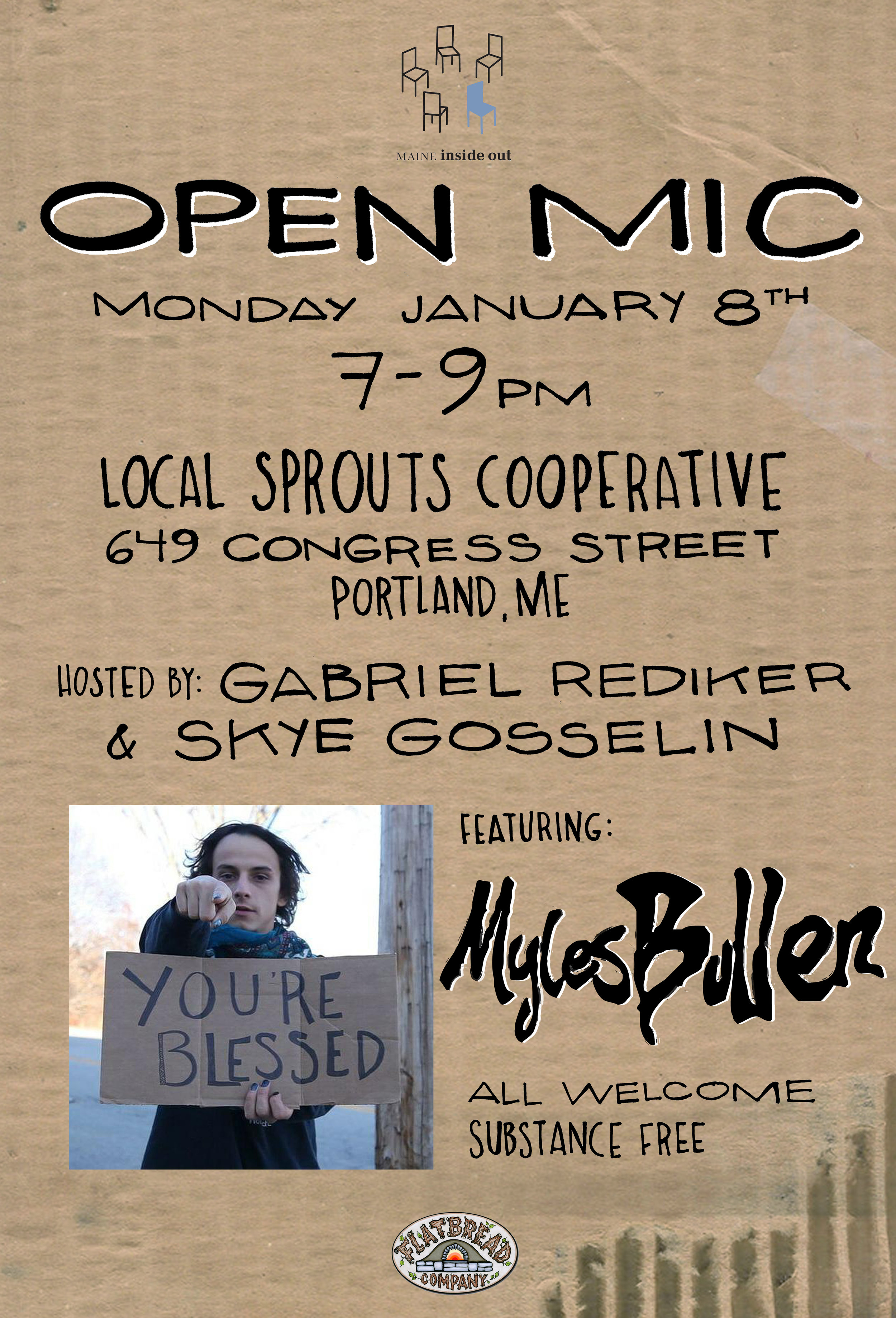 Monthly Open Mic