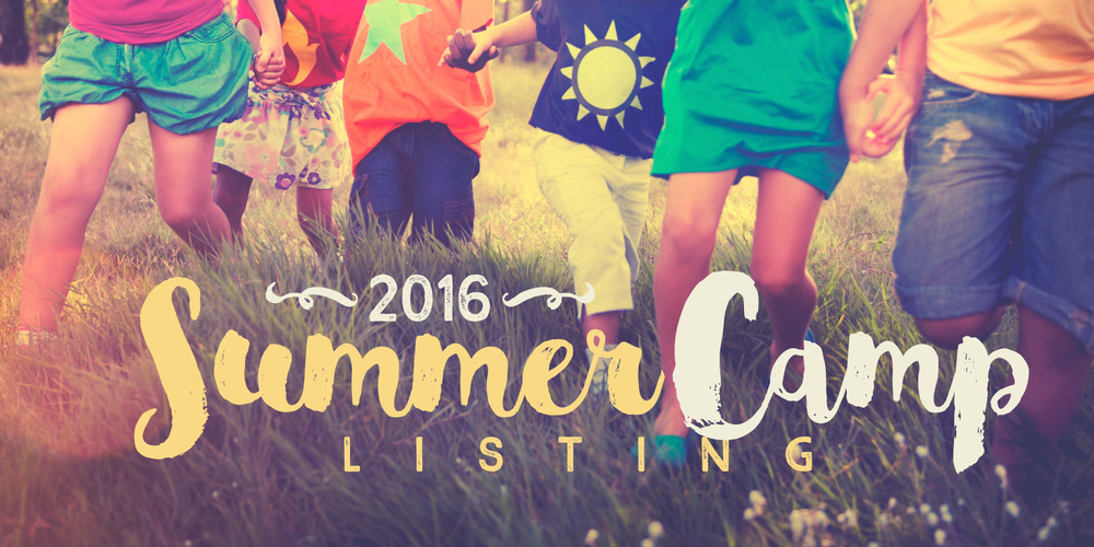 2016 Summer Camp Listing
