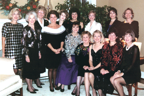 In the 1980s the ladies of Charity Circle formed the current format of caroling parties throughout the year to aid their community.