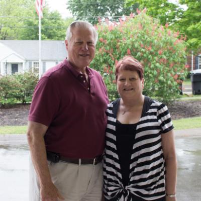 Meals on Wheels volunteers Spencer and Karen Graves