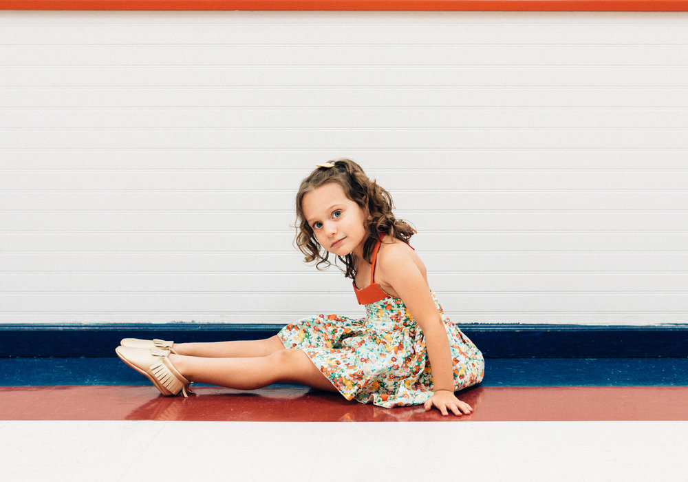 Zoe Boudreaux (Crazy Kukla): Crazy Kukla dress and bloomers, Crazy Kukla felt hair clip, and Sweet and Sassy shoes