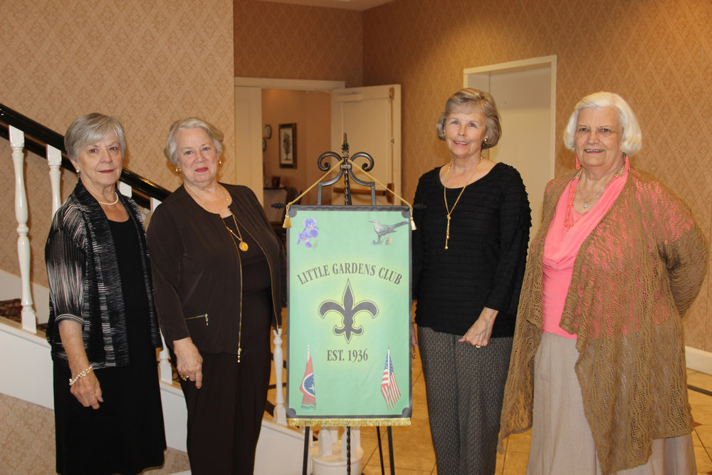 The current officers are Joan Rose (Treasurer), Ann Coleman (Vice President), Terri Kelly (Secretary) and Kitty Bush (President).