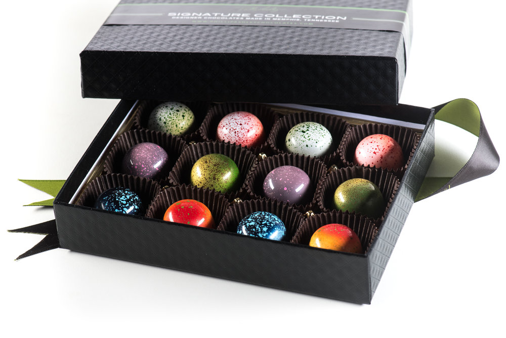 Cocktails blended with Luxury Designer Chocolate