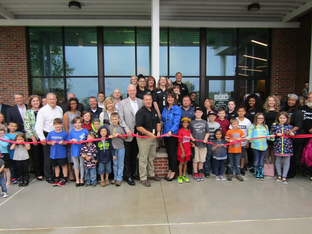 The Town of Smyrna celebrated the opening of the new Smyrna Outdoor Activity Center.