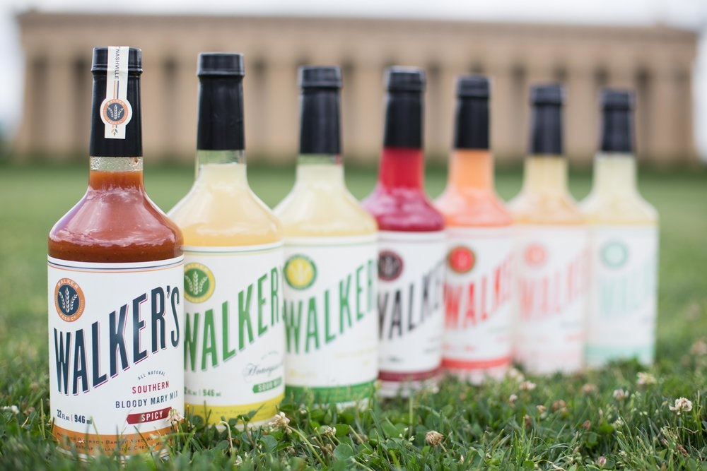 To make spirits brighter, there is Walker Feed Co. Created in 2013 with the idea that not all cocktail mixers are created equal. Determined to create an all-natural mixer made with fresh squeezed juices, premium ingredients, and no artificial flavors, colors or preservatives, Walker Feed Co. was born.  Walker's Southern Bloody Mary Mix sources regional flavors to create a fully rounded uniquely Southern flavor profile, with just the right amount of heat and is made with fresh squeezed tomato juice, a Bourbon Barrel Aged Worcestershire, Blackstrap Molasses and Creole Mustard. The entire line of Walker's Mixers are all natural, created with fresh squeezed juices and premium, uniquely Southern ingredients. NO MSG. Low sodium. Low Calorie. Vegetarian.