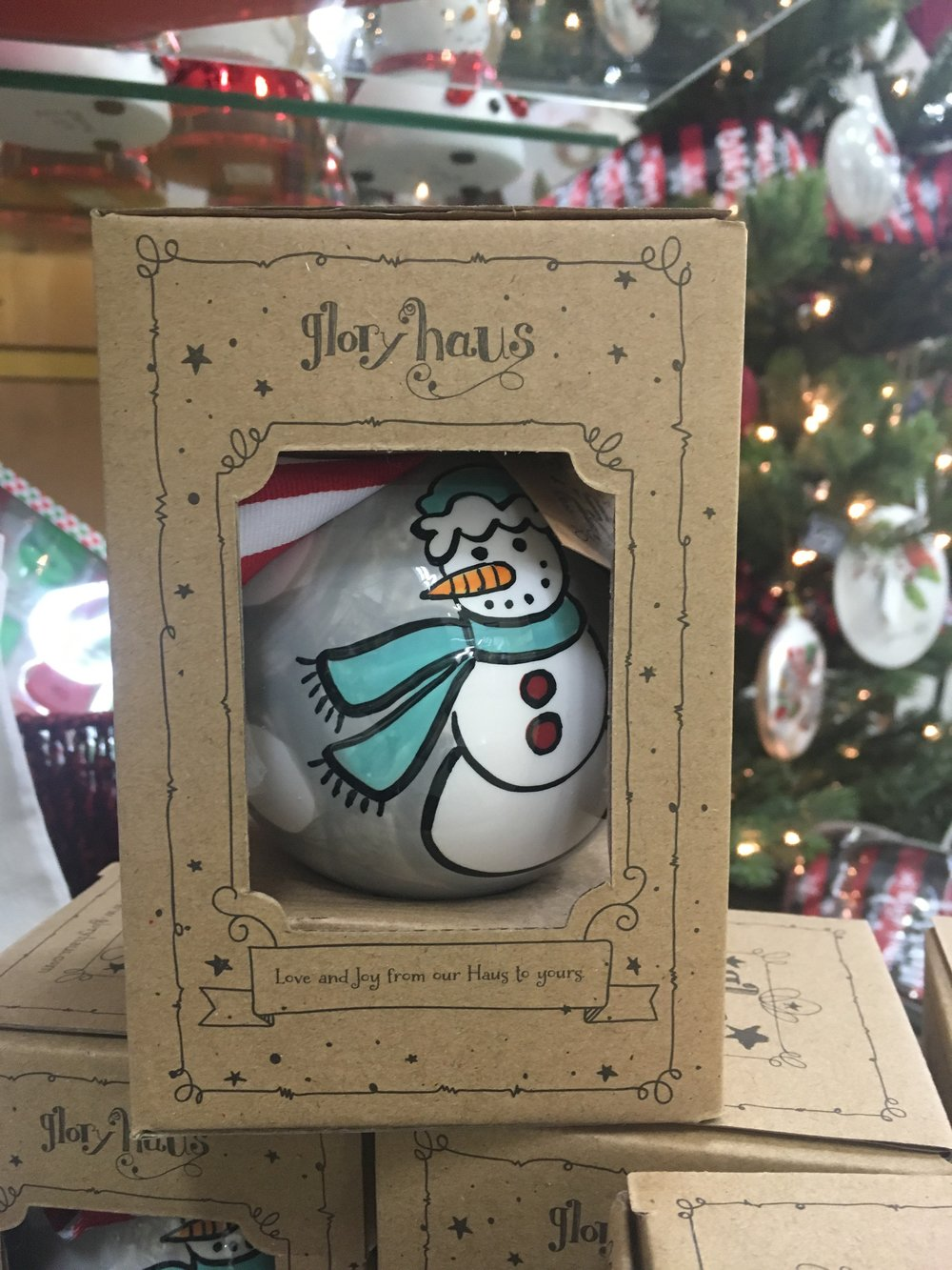 These beautiful hand-painted ceramic ornaments will bring joy into your home.They are available in the Reeves-Sain Gift Shoppe in a variety of different heart-warming designs that will make the perfect addition to your Christmas tree. They're also sure to please at a holiday gift exchange or as a unique hostess gift!  Reeves Sain Gift Shoppe 1801 Memorial Blvd